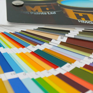 BS & RAL Colour Matching Decorative Paint