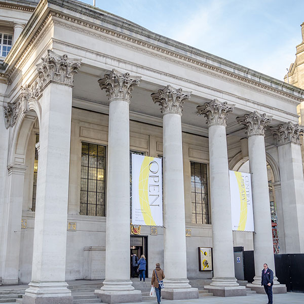 Manchester Central Library Grade II listed restoration HMG Paints