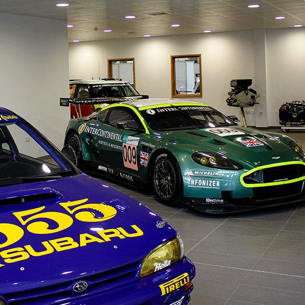 Durable prodrive race car factory paint HMG Paints