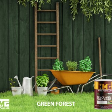 Green Fence and Shed Paint - HMG Paints
