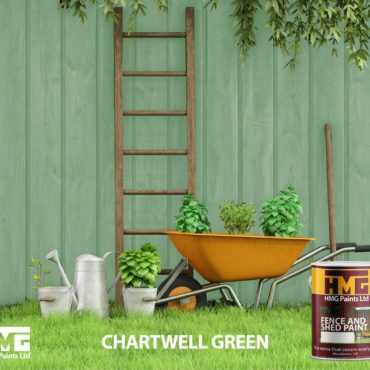 Chartwell Green Fence and Shed Paint - HMG Paints
