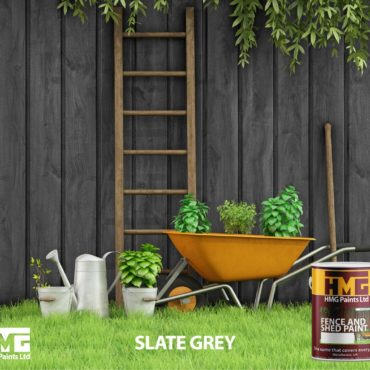 Slate Grey Fence and Shed Paint - HMG Paints