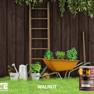 Walnut Fence and Shed Paint - HMG Paints