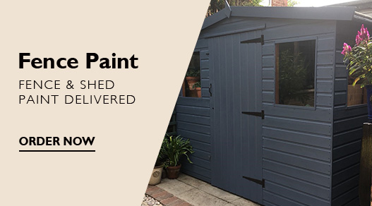 Fence Paint Delivered - Choose any colour