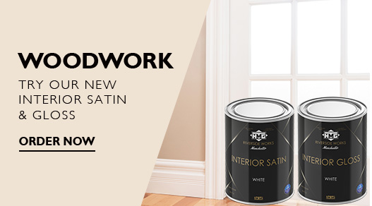 Woodwork and Trim Paint, Gloss Paint, Satin Paint Delivered, Made in Britain