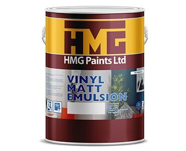 HMG Paints Vinyl Matt Emulsion - Made in Britain