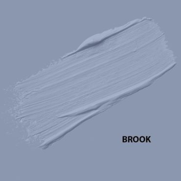 HMG Paints - Brook - A powder blue shade with soft hints of lavender. Named after the brook which runs through HMG Paints' historical site.
