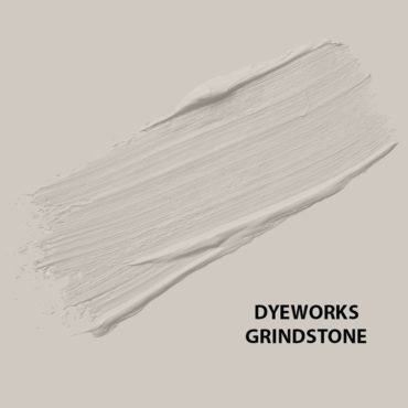 HMG Paints - Dyeworks Grindstone - A cosmopolitan light grey, perfect for a full room or features. Named after the original dyeworks grindstone which was used on this very site in the 1700's and still exists today and has a home at HMG.