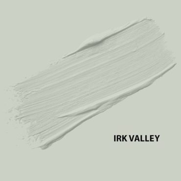HMG Paints - Irk Valley - An exemplary fit between green and grey, ideal for interior spaces large or small. The area in which the business has been situated since 1930.