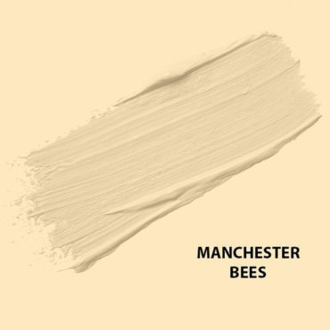 HMG Paints - Manchester Bees - The worker bee was adopted as a motif for Manchester and denotes Mancunians' hard work during the Industrial Revolution in the 19th Century.