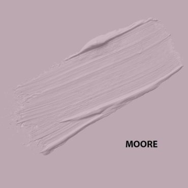 HMG Paints - Moore - A soft purple glowing with regalness. Purple's royal status originates from the cost and rarity of the dye which was used to produce it. Named after another valued ex employee of HMG, Albert Moore.