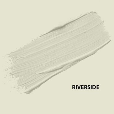 HMG Paints - Riverside - A sweet green, off white shade. A fresh colour which brightens dark interior spaces. HMG Paints is situated alongside the River Irk and as our address states, we are the Riverside Works.