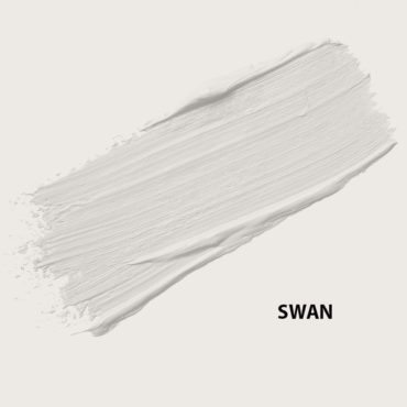 HMG Paints - Swan - A pure greyish white with undertones of lavender.