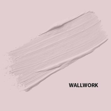 HMG Paints - Wallwork -A lilac pink blush, popular within 21st century trends. Named after a dedicated ex employee of HMG, Stan Wallwork.