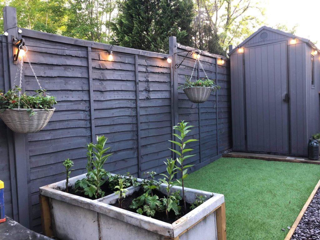 HMG Paints Fence and Shed Paint Prestwich Blue